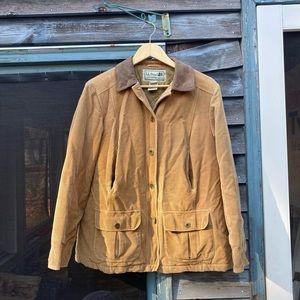 ll bean corduroy insulated barn coat